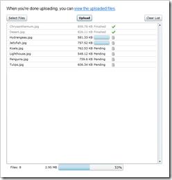 screenshot of slupload.cloudapp.net